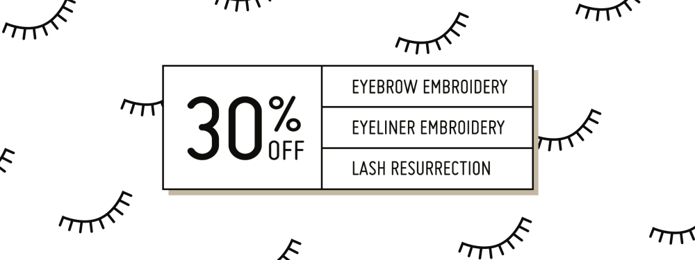 30% off Semi-Permanent Makeup Services